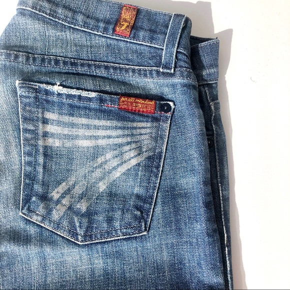 3b3ce331 7 For All Mankind Jeans | 7fam Airbrushed Dojo Trouser 325 26 | Poshmark